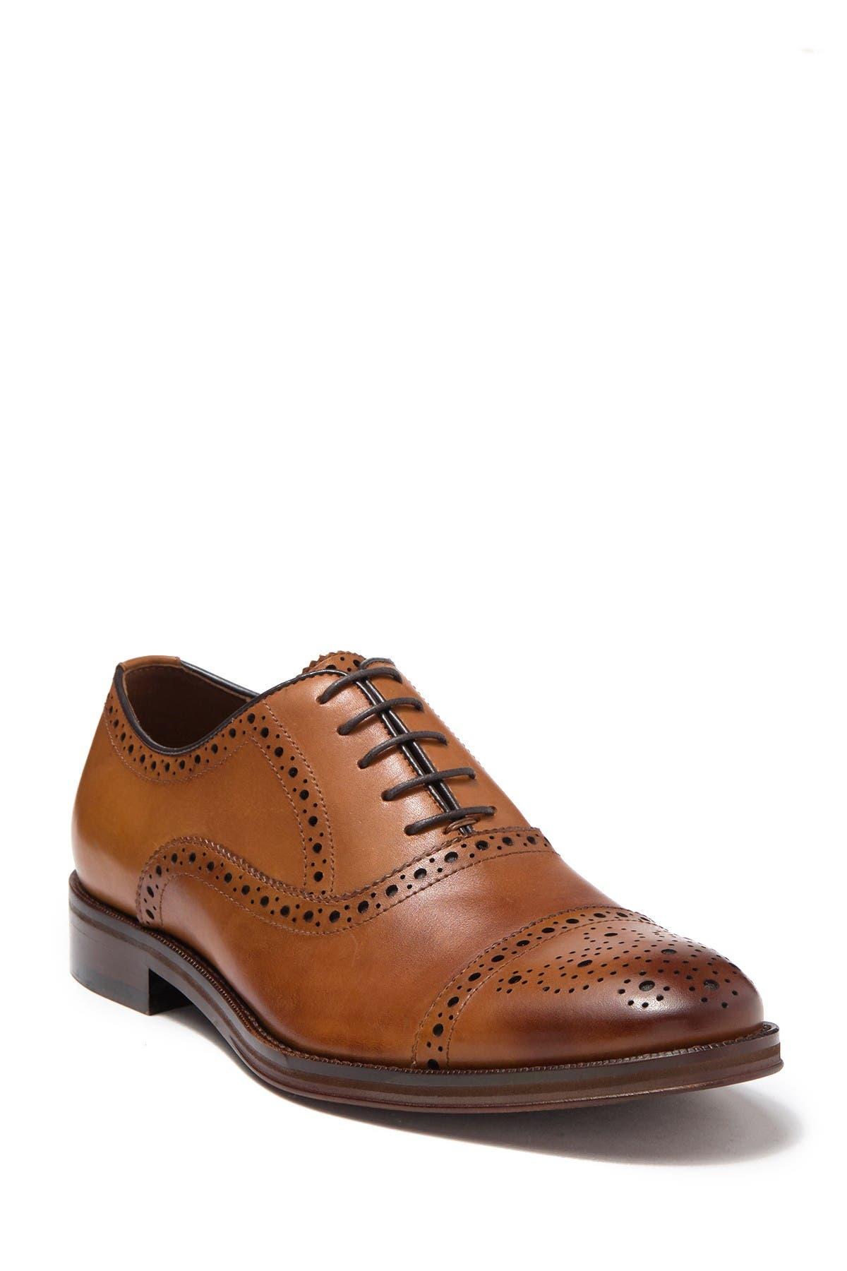Image of Gordon Rush Gabriel Cap Toe Leather Oxford