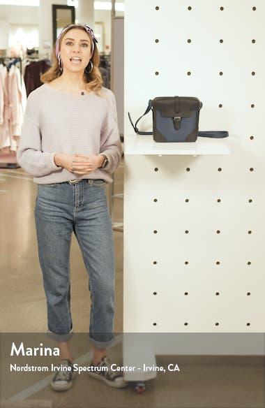 Binocular Case Faux Leather Crossbody Bag, sales video thumbnail