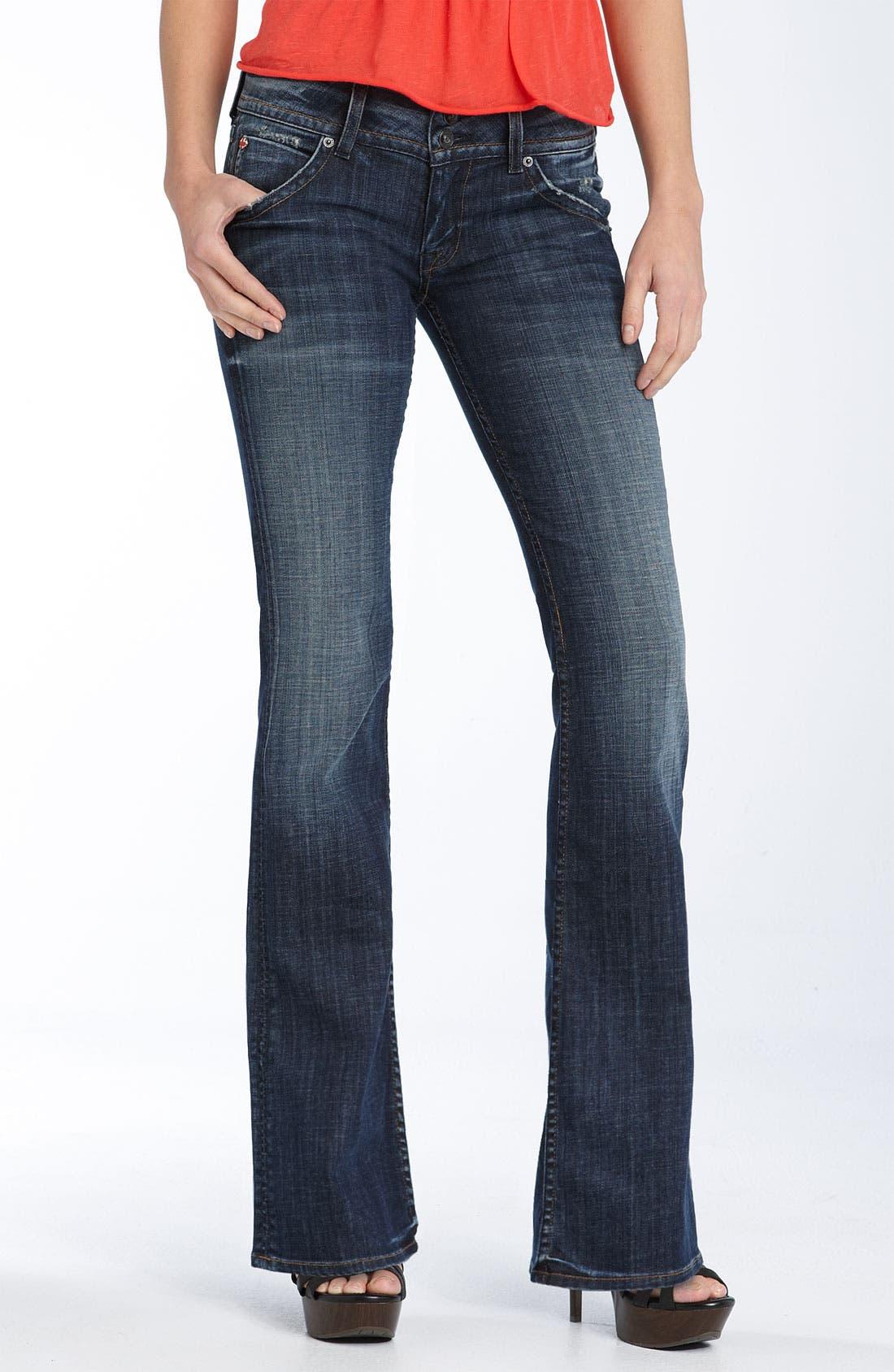 ,                             Signature Flap Pocket Bootcut Jeans,                             Main thumbnail 37, color,                             419