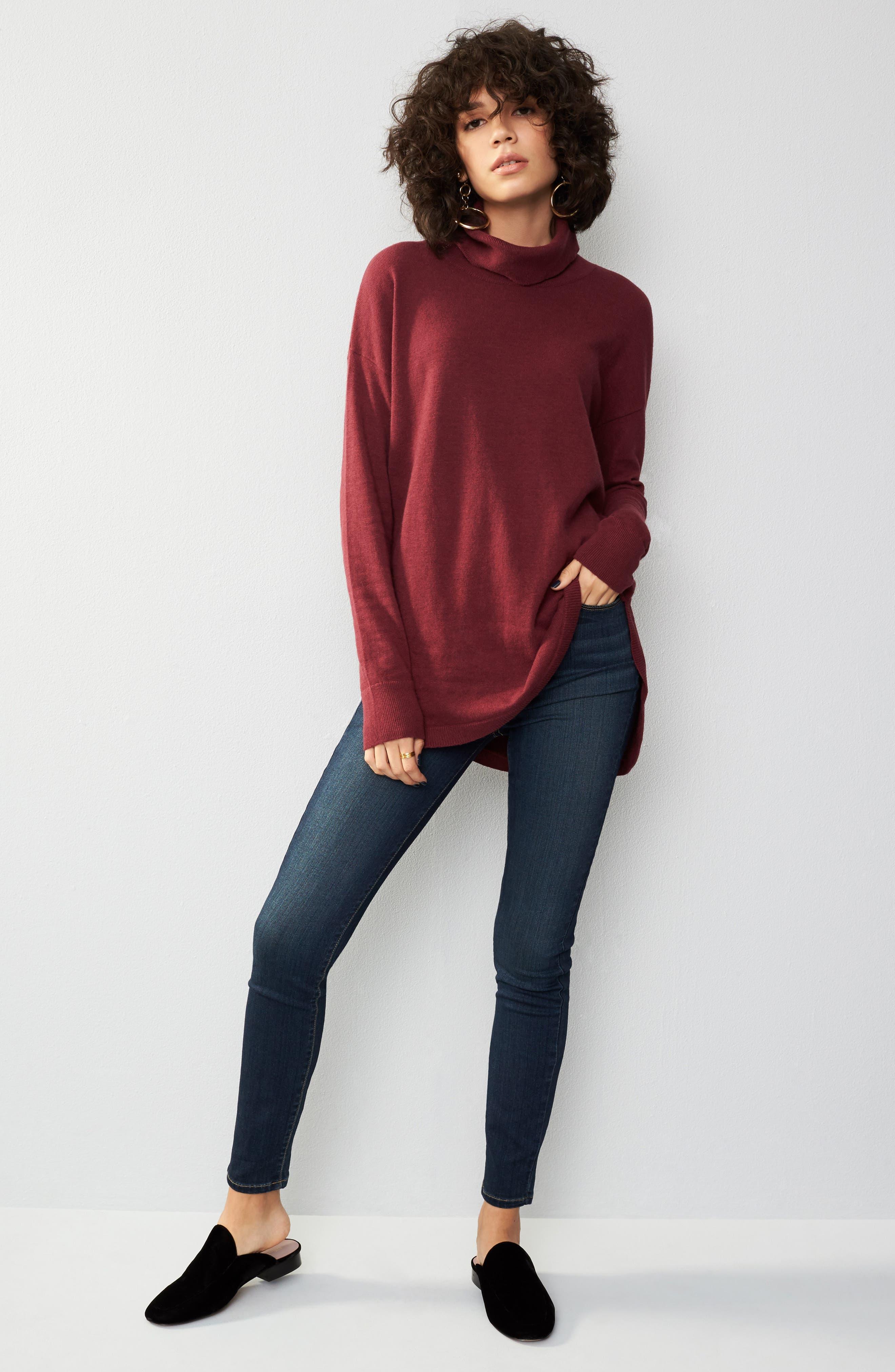 ,                             Transcend - Hoxton High Waist Ultra Skinny Jeans,                             Alternate thumbnail 10, color,                             400
