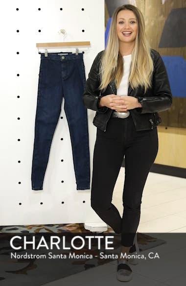 Moto 'Joni' Super Skinny Jeans, sales video thumbnail