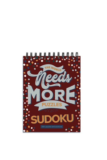 Image of TF Publishing The World Needs More Sudoku Book Puzzle Pad - Pack of 2