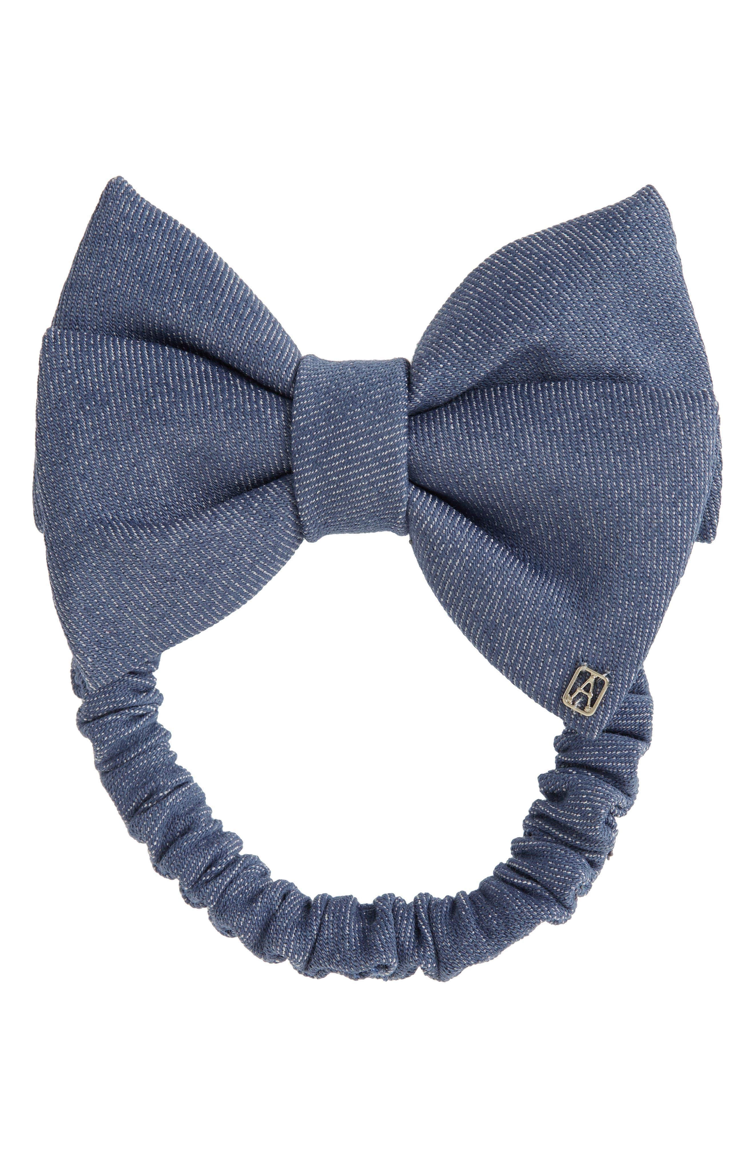Denim Hair Tie