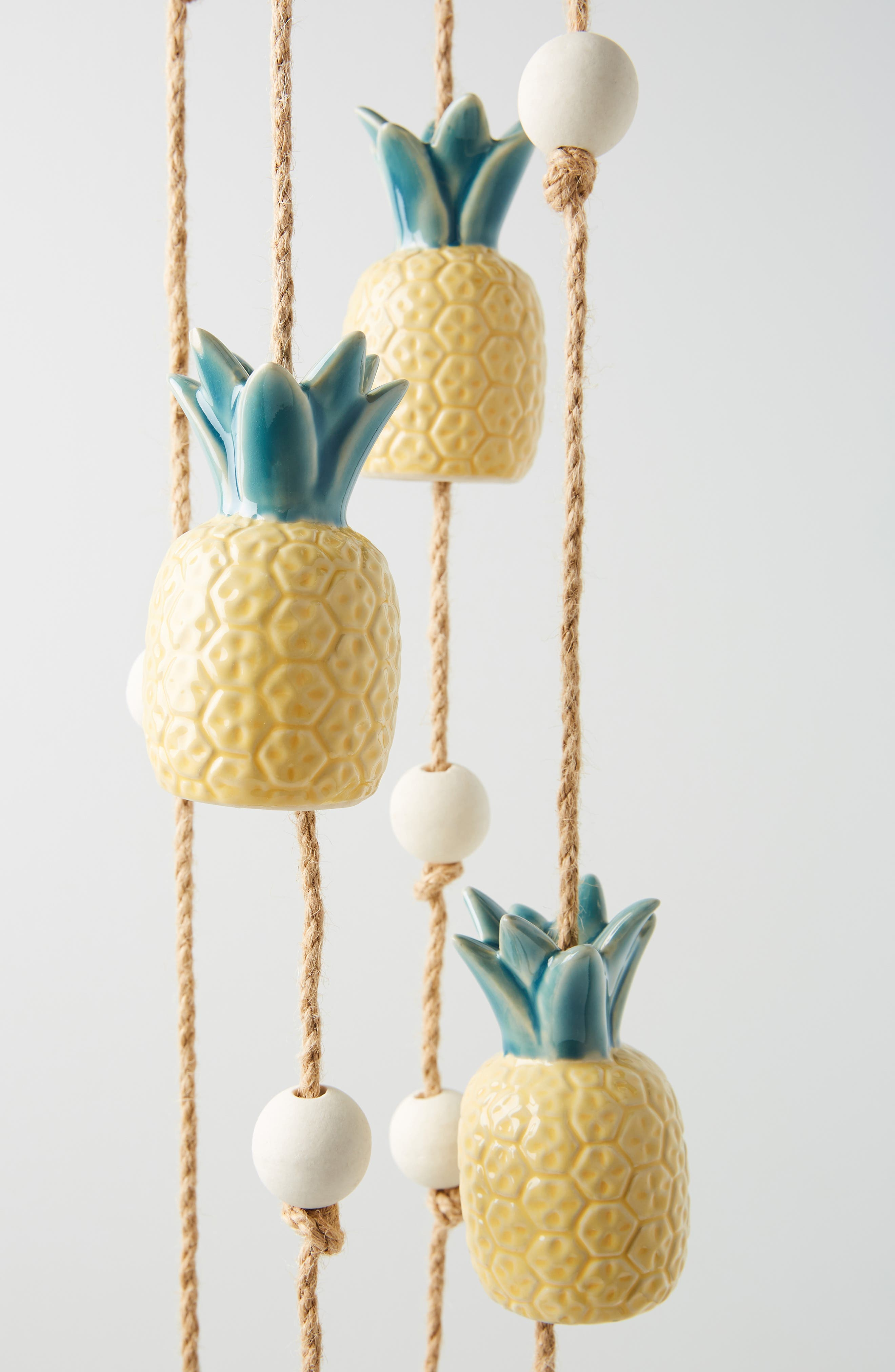 ,                             Pineapple Wind Chime,                             Alternate thumbnail 4, color,                             YELLOW