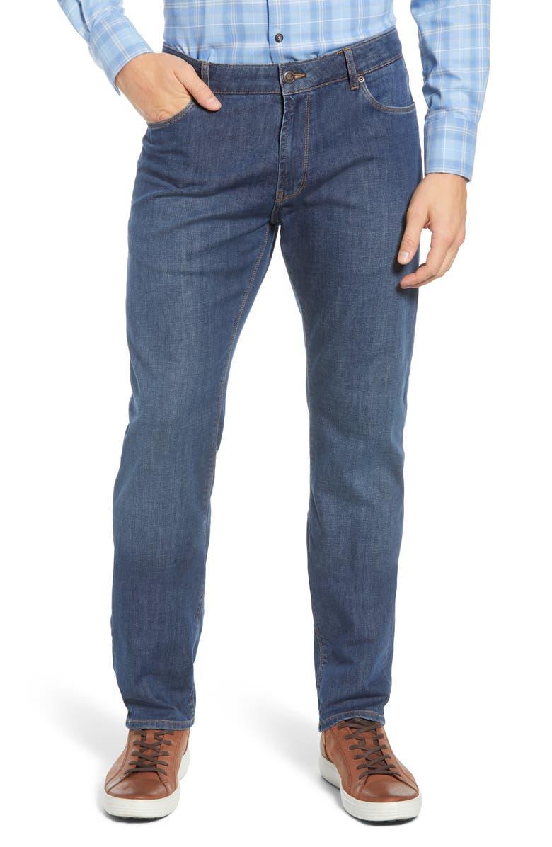 PETER MILLAR Straight Leg Jeans, Main, color, 235
