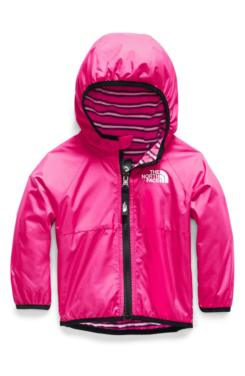 THE NORTH FACE Breezeway Reversible Water Repellent Windproof Jacket, Main, color, MR. PINK