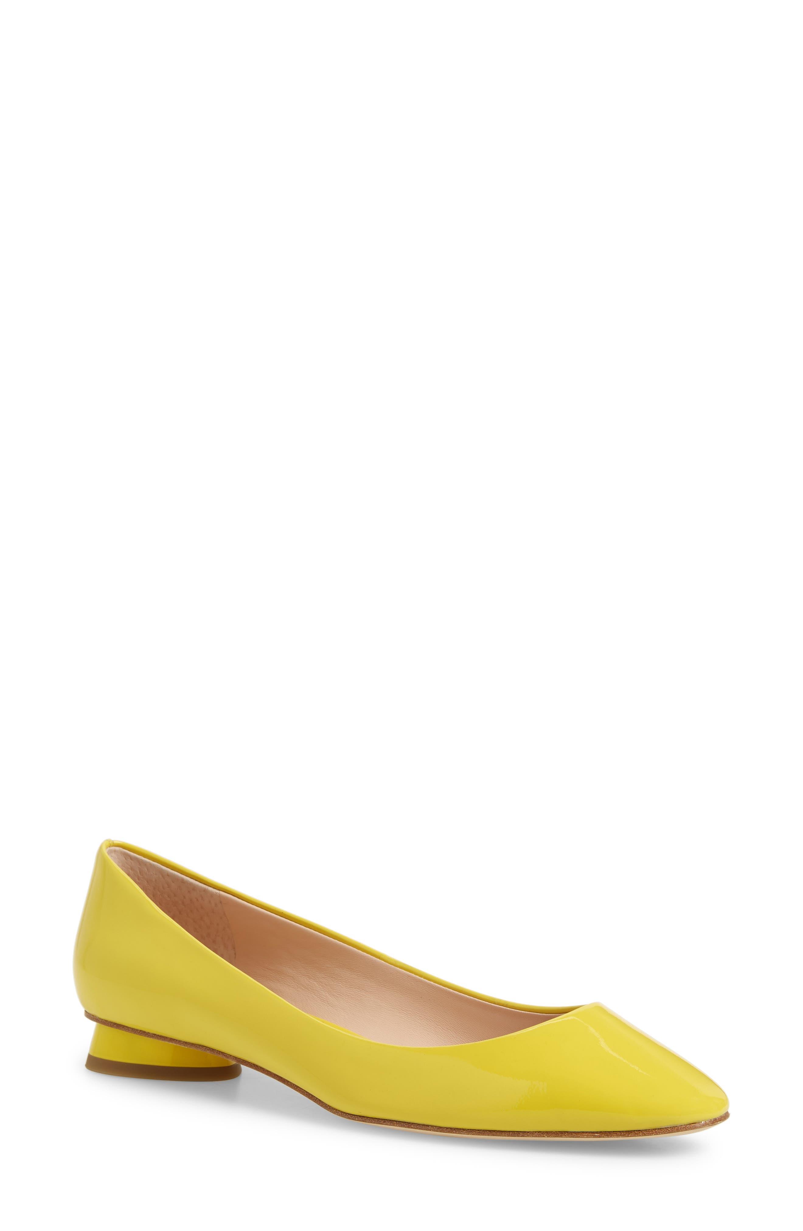 Kate Spade New York Fallyn Skimmer Flat, Yellow
