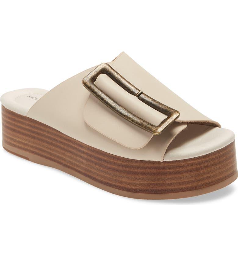 KELSI DAGGER BROOKLYN Dover Sandal, Main, color, WHITE WASH LEATHER