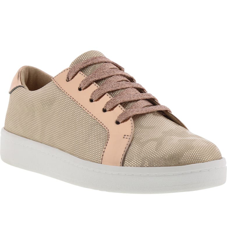 KENNETH COLE NEW YORK Kenneth Cole Luna Abbey Metallic Sneaker, Main, color, ROSE CAMO