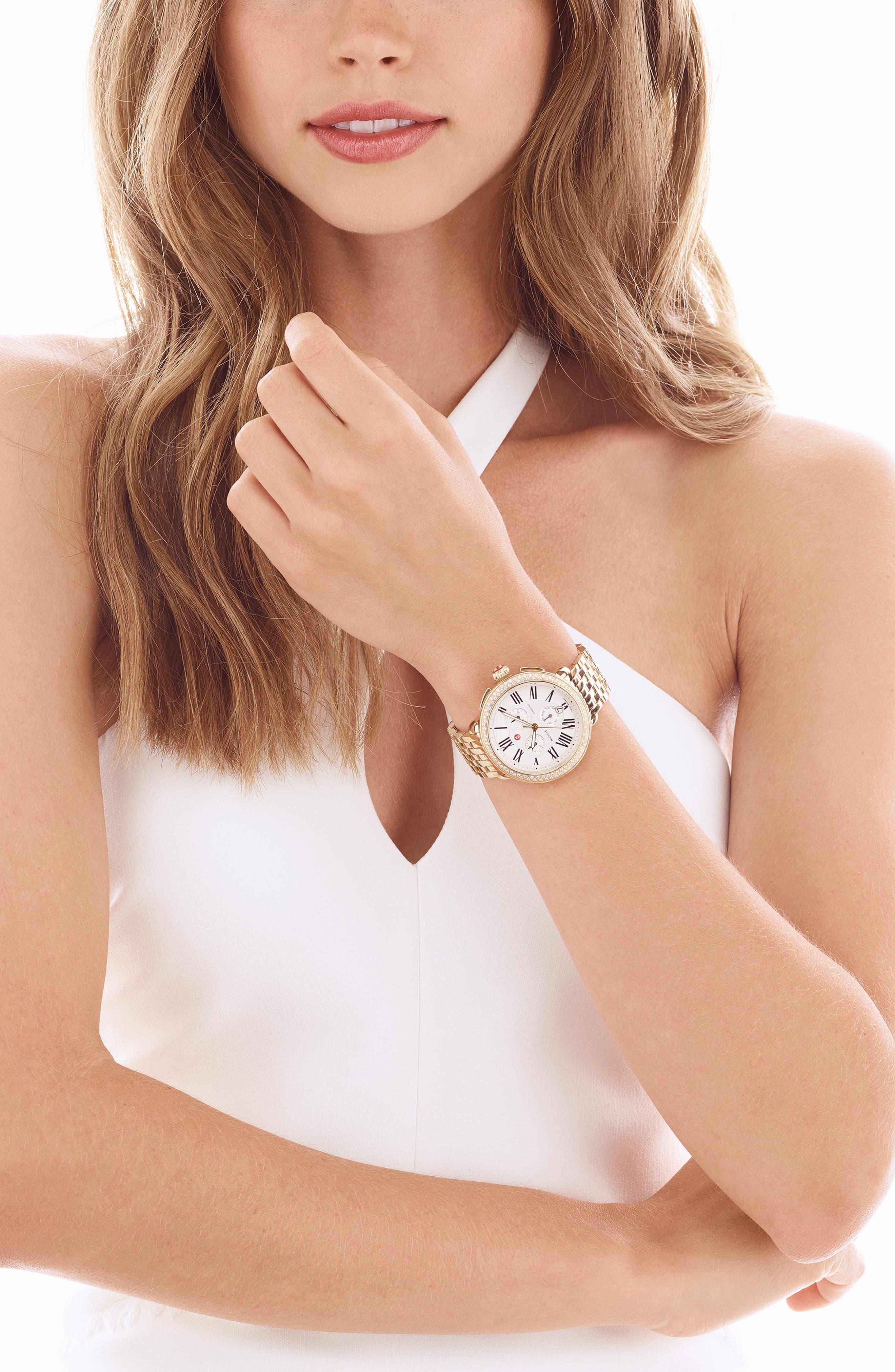 ,                             'Serein' 18mm Watch Bracelet Band,                             Alternate thumbnail 6, color,                             710