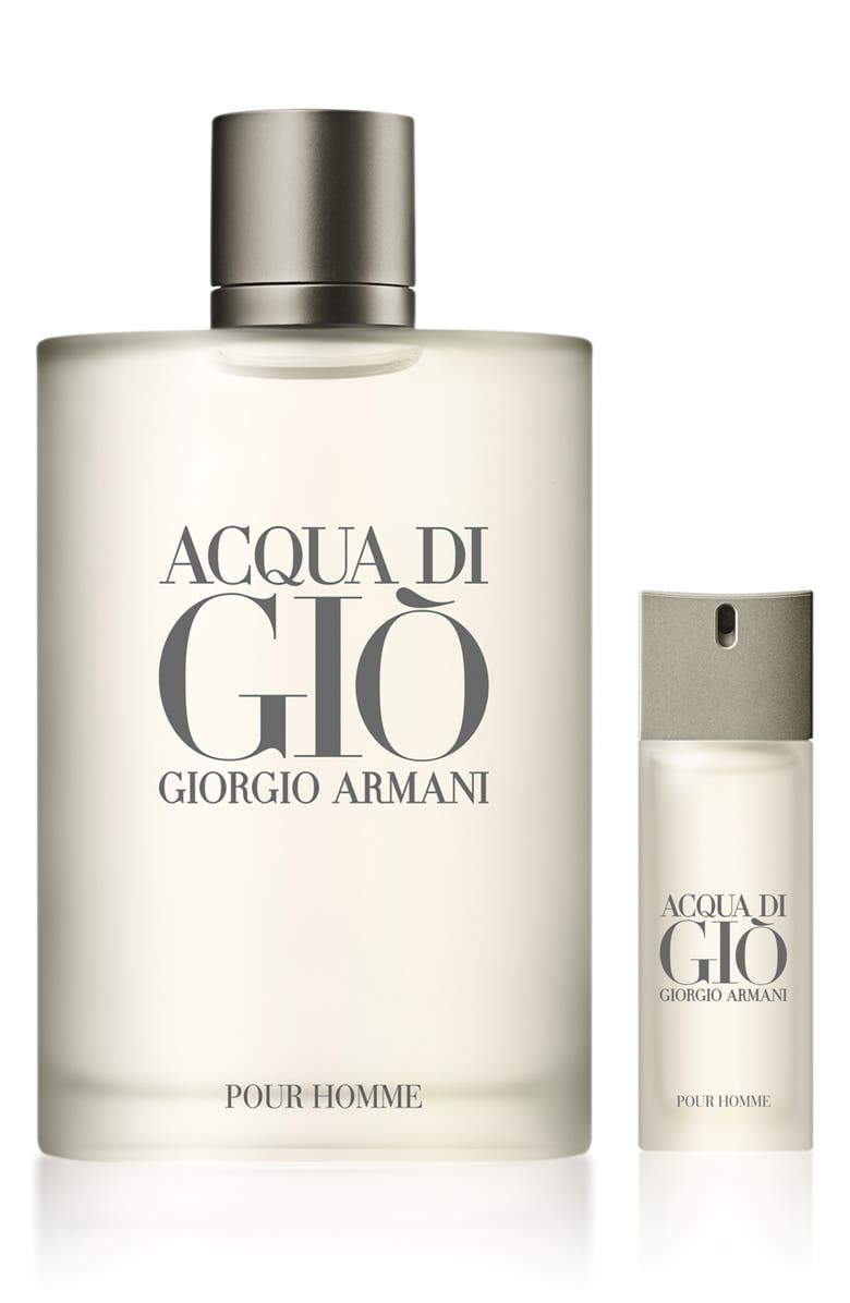GIORGIO ARMANI Acqua di Giò Eau de Toilette Natural Spray Set, Main, color, NO COLOR
