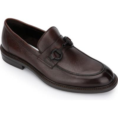 Kenneth Cole New York Class 2.0 Bit Loafer- Brown