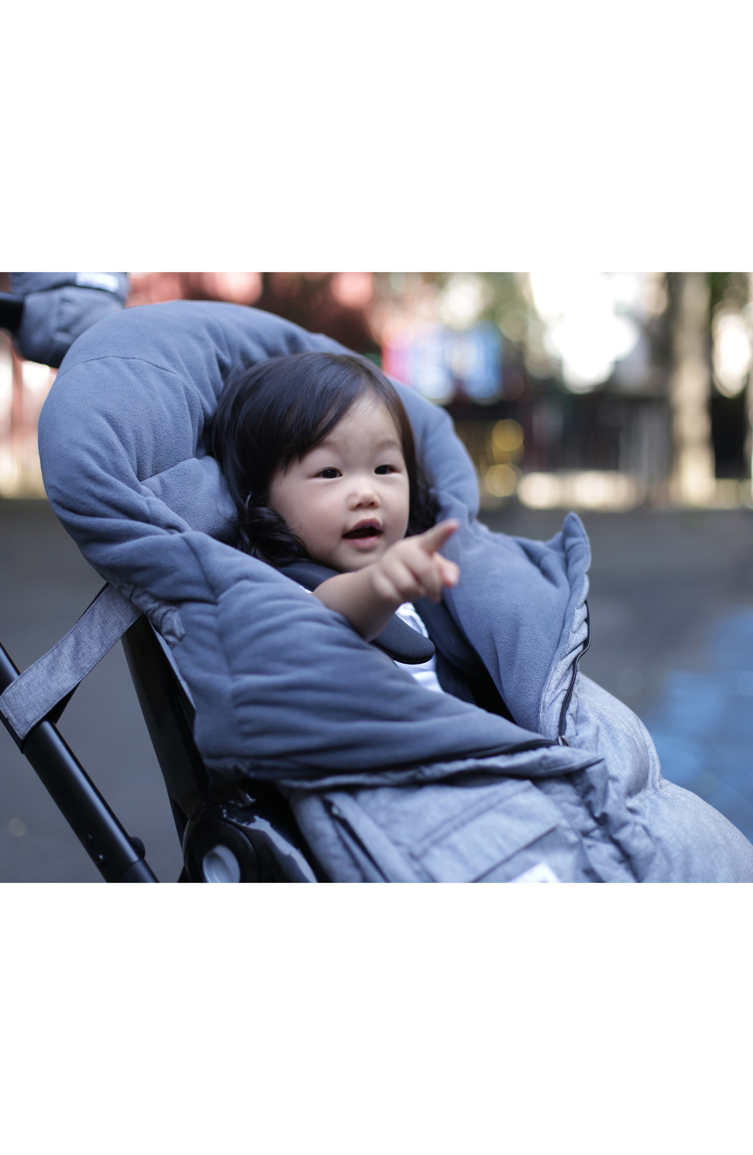 ,                             212 evolution<sup>®</sup> ExtendableStroller/Car Seat Bunting,                             Alternate thumbnail 4, color,                             021