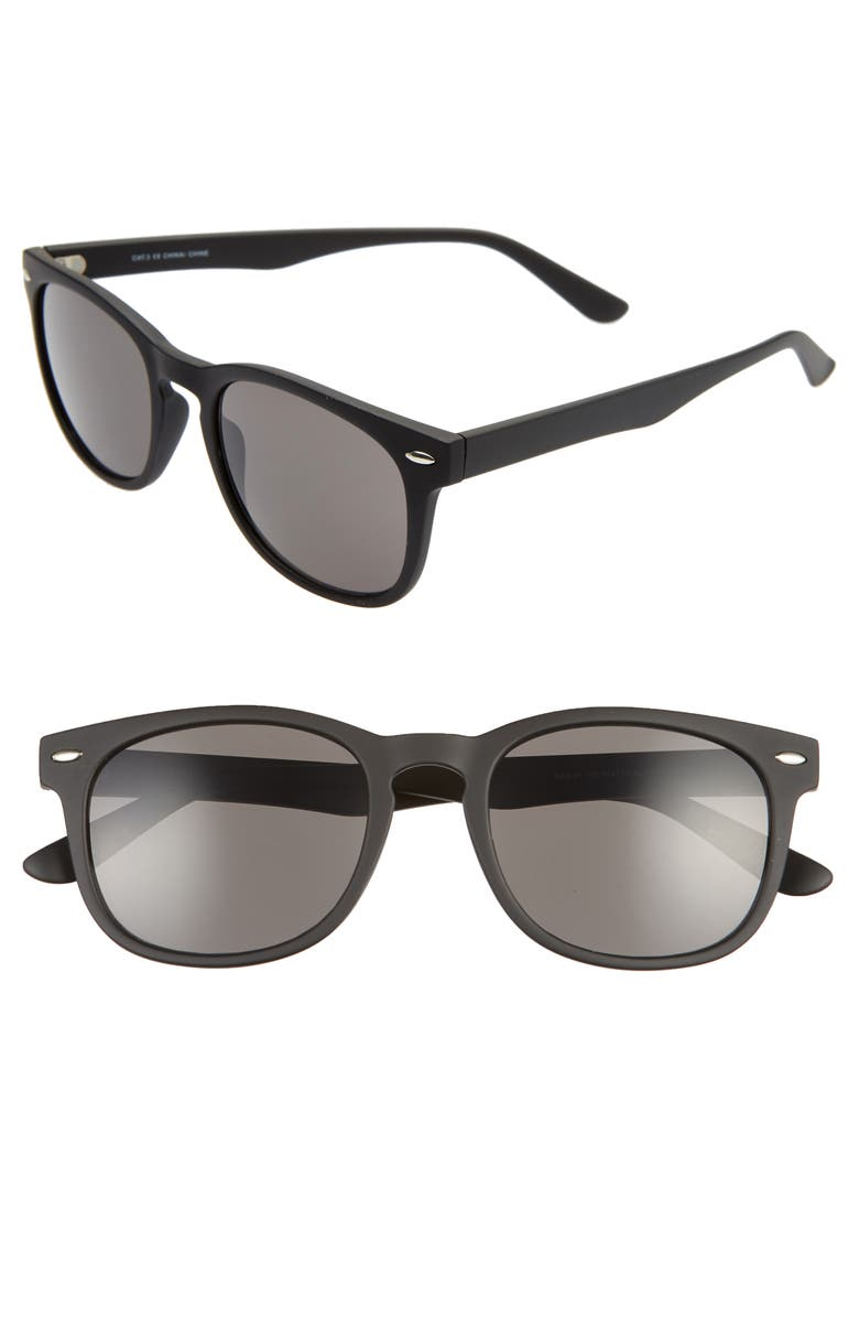 BP. Austin 54mm Sunglasses, Main, color, 001