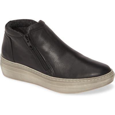 Cloud Qupid Wool Lined Sneaker, Black