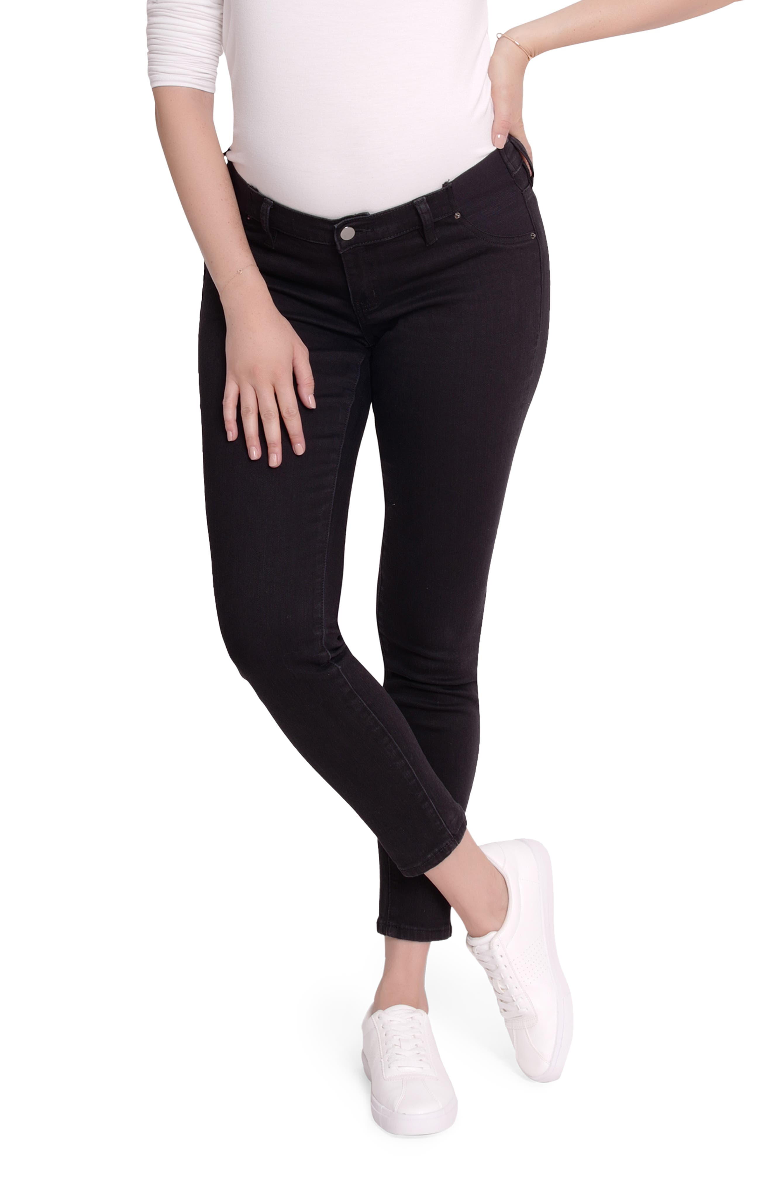 Women's Ingrid & Isabel Inset Panel Maternity Skinny Jeans