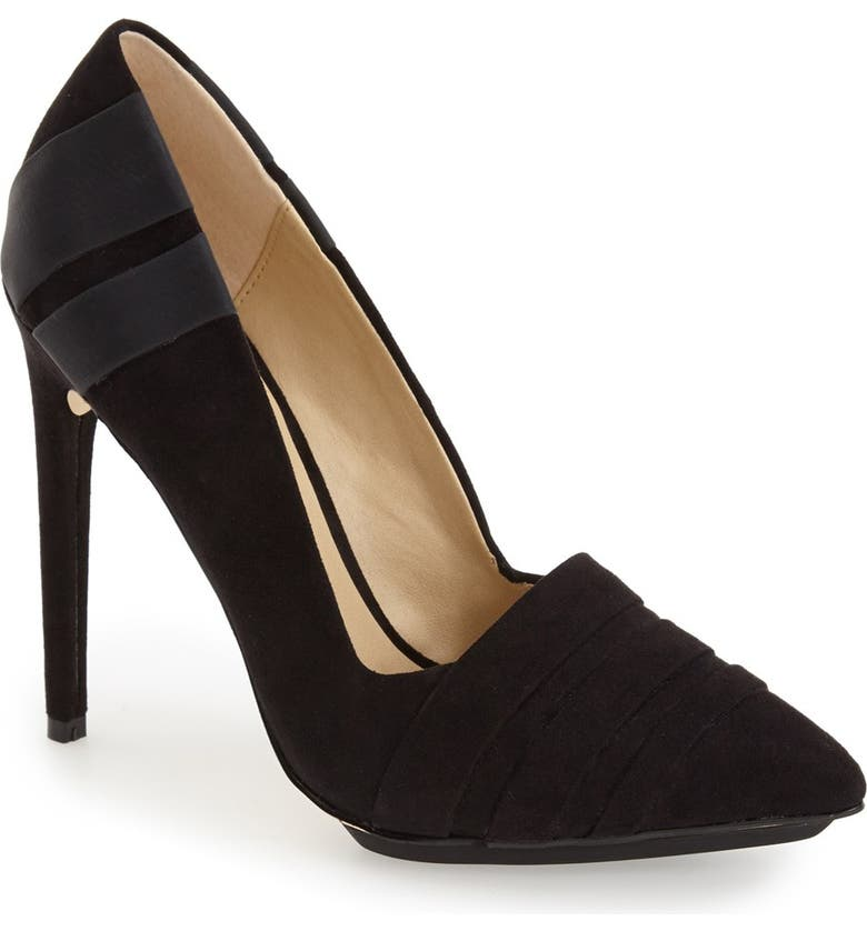 GX BY GWEN STEFANI 'Cage' Pointy Toe Pump, Main, color, 001
