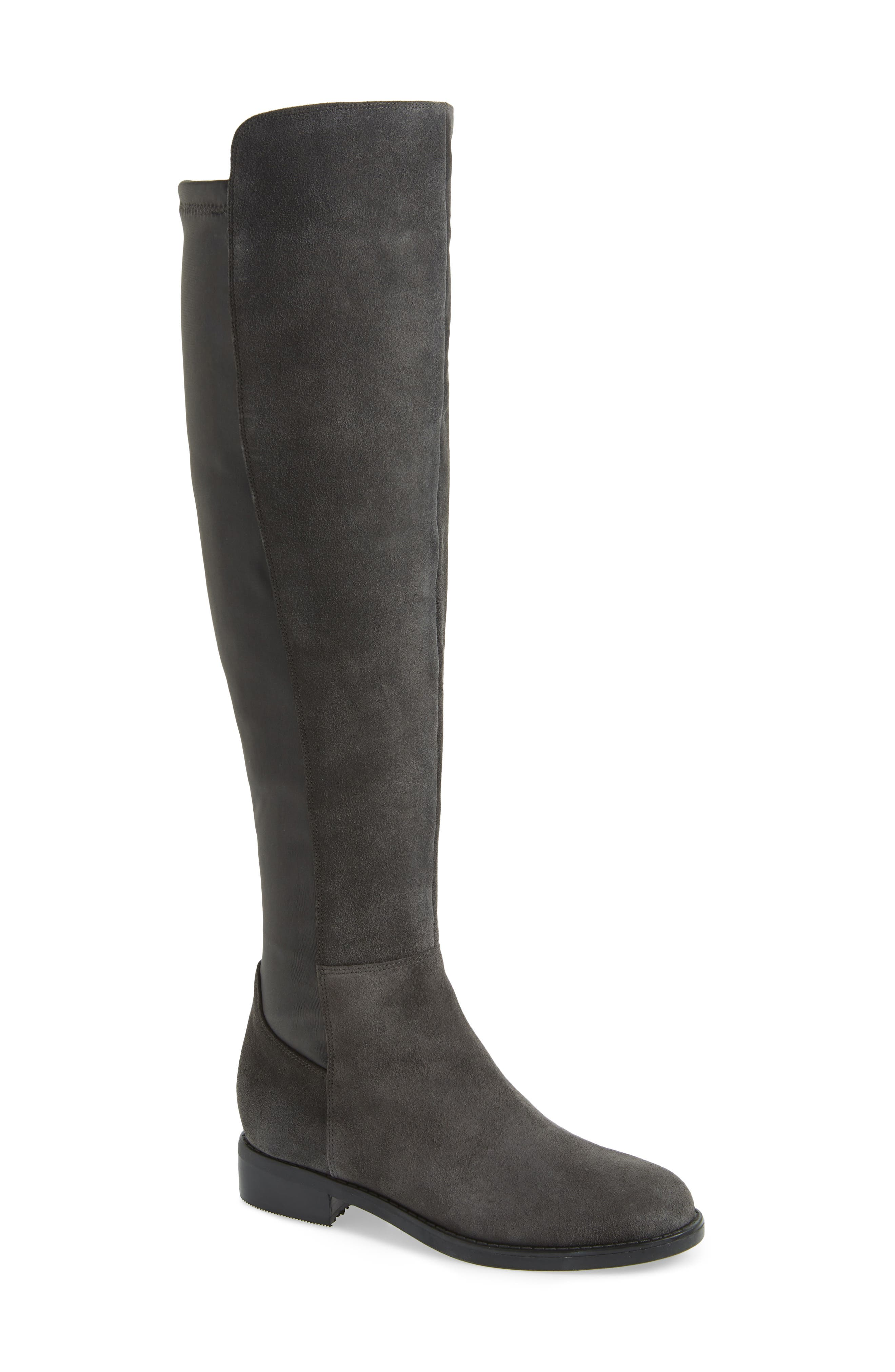 ,                             Danny Over the Knee Waterproof Boot,                             Main thumbnail 7, color,                             020