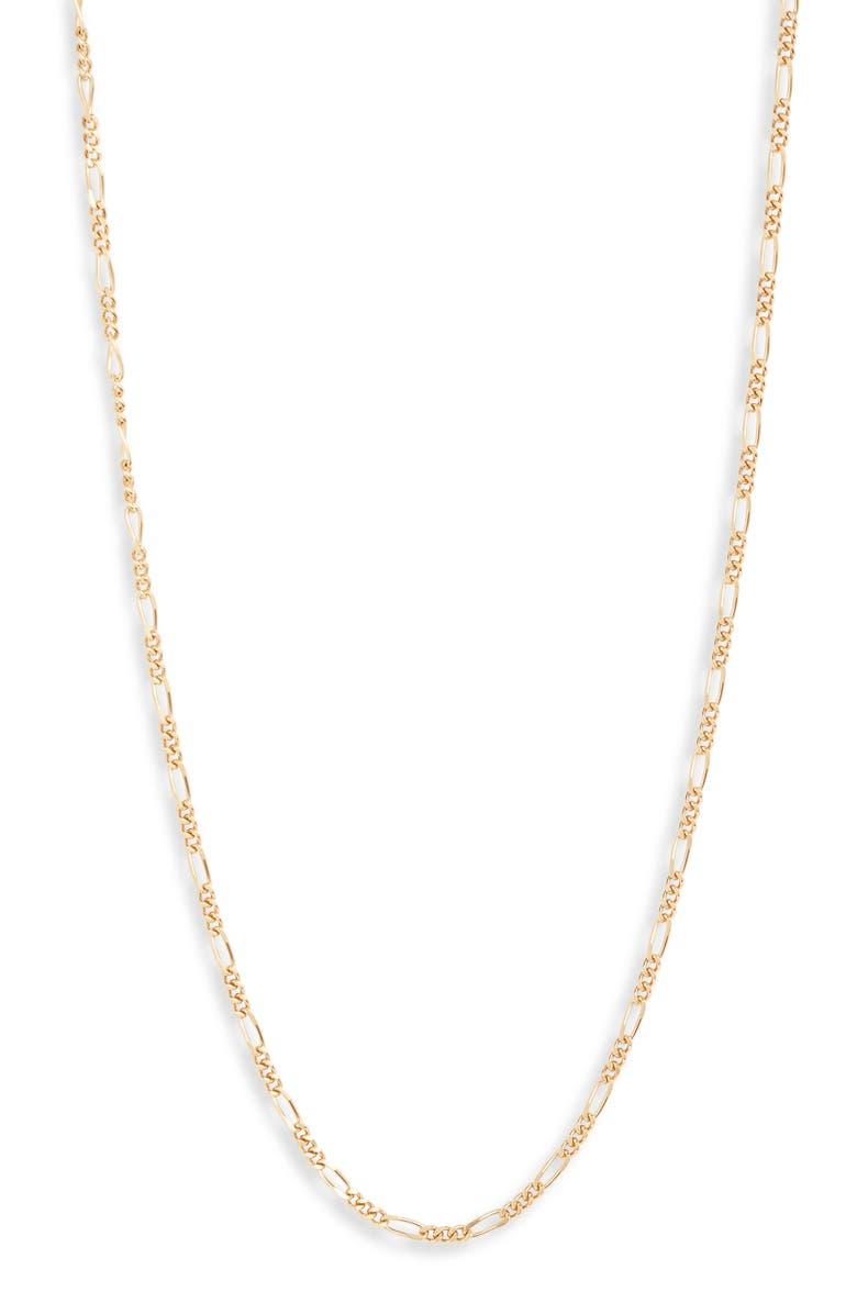 BRACHA Like a Lady Choker Necklace, Main, color, GOLD