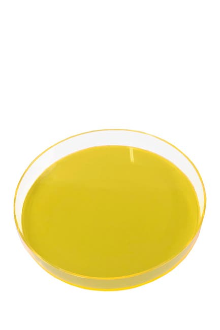 Image of R16 HOME Neon Yellow Round Tray