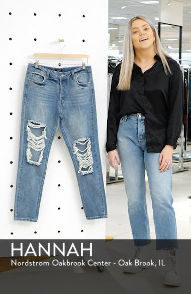 Cyrus High Waist Ankle Jeans, sales video thumbnail