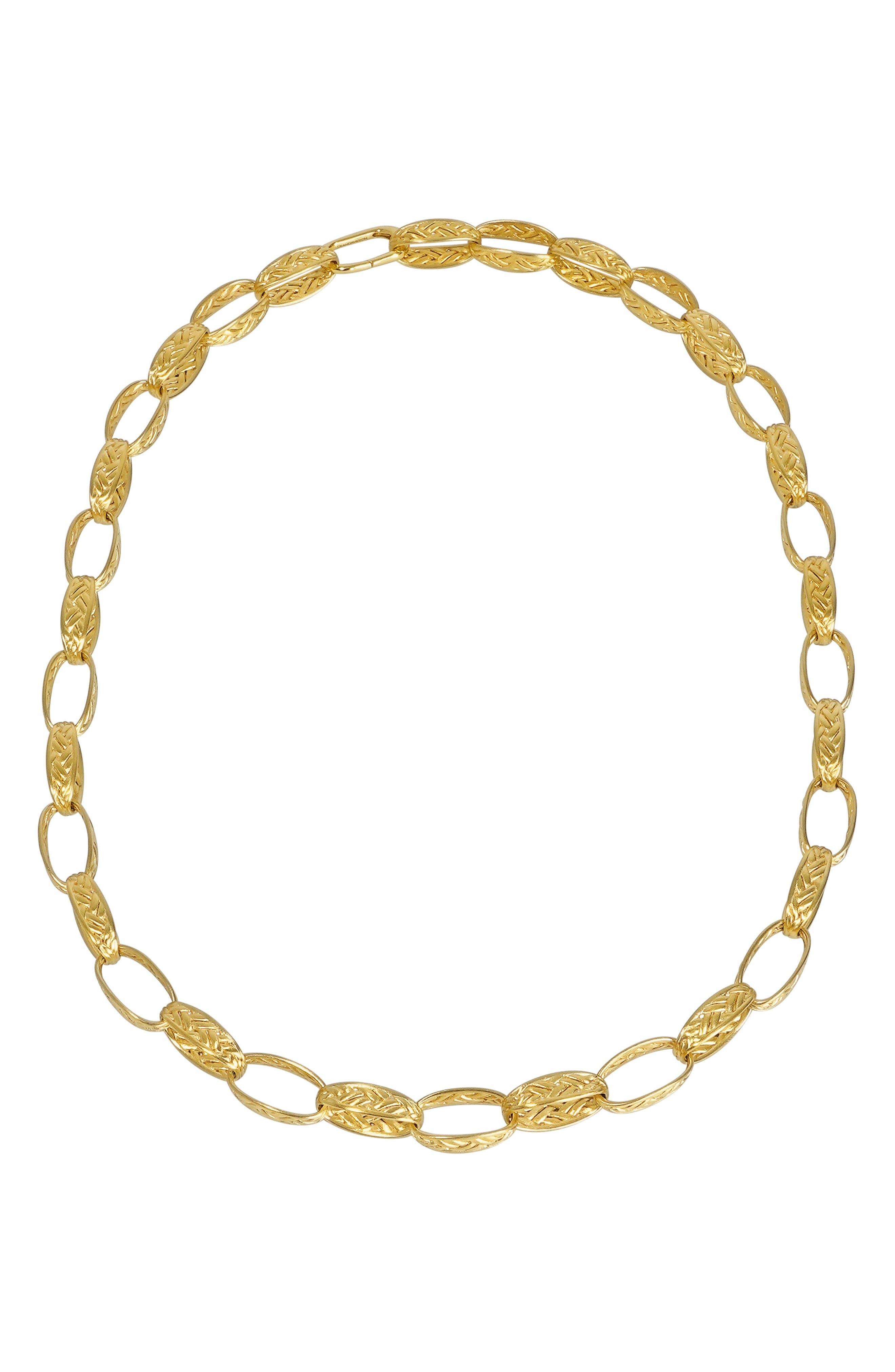 Weave Link Necklace