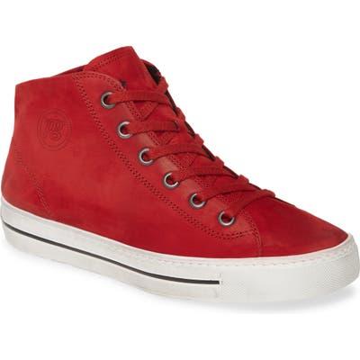 Paul Green Calissa Sport High Top Sneaker - Red