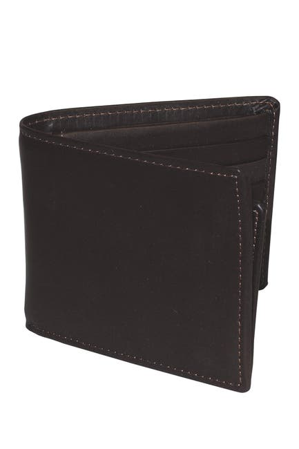Image of Buxton Dopp Regatta Leather Convertible Thinfold Wallet