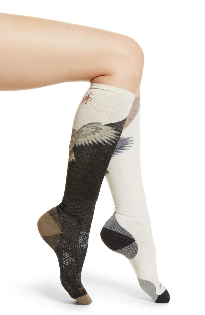 SMARTWOOL PhD<sup>®</sup> Pro Free Ski Socks, Main, color, 020