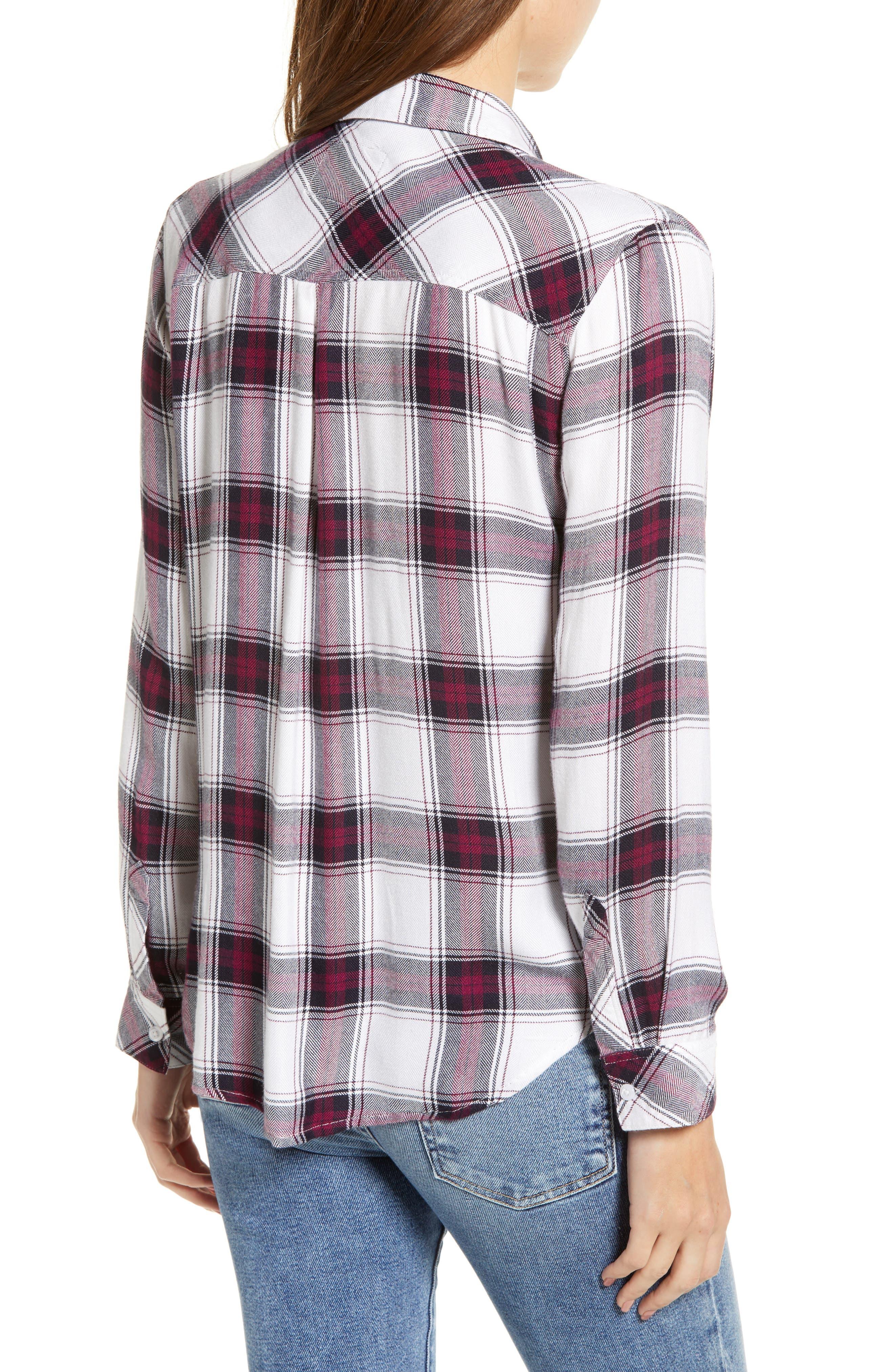 ,                             Hunter Plaid Shirt,                             Alternate thumbnail 407, color,                             502