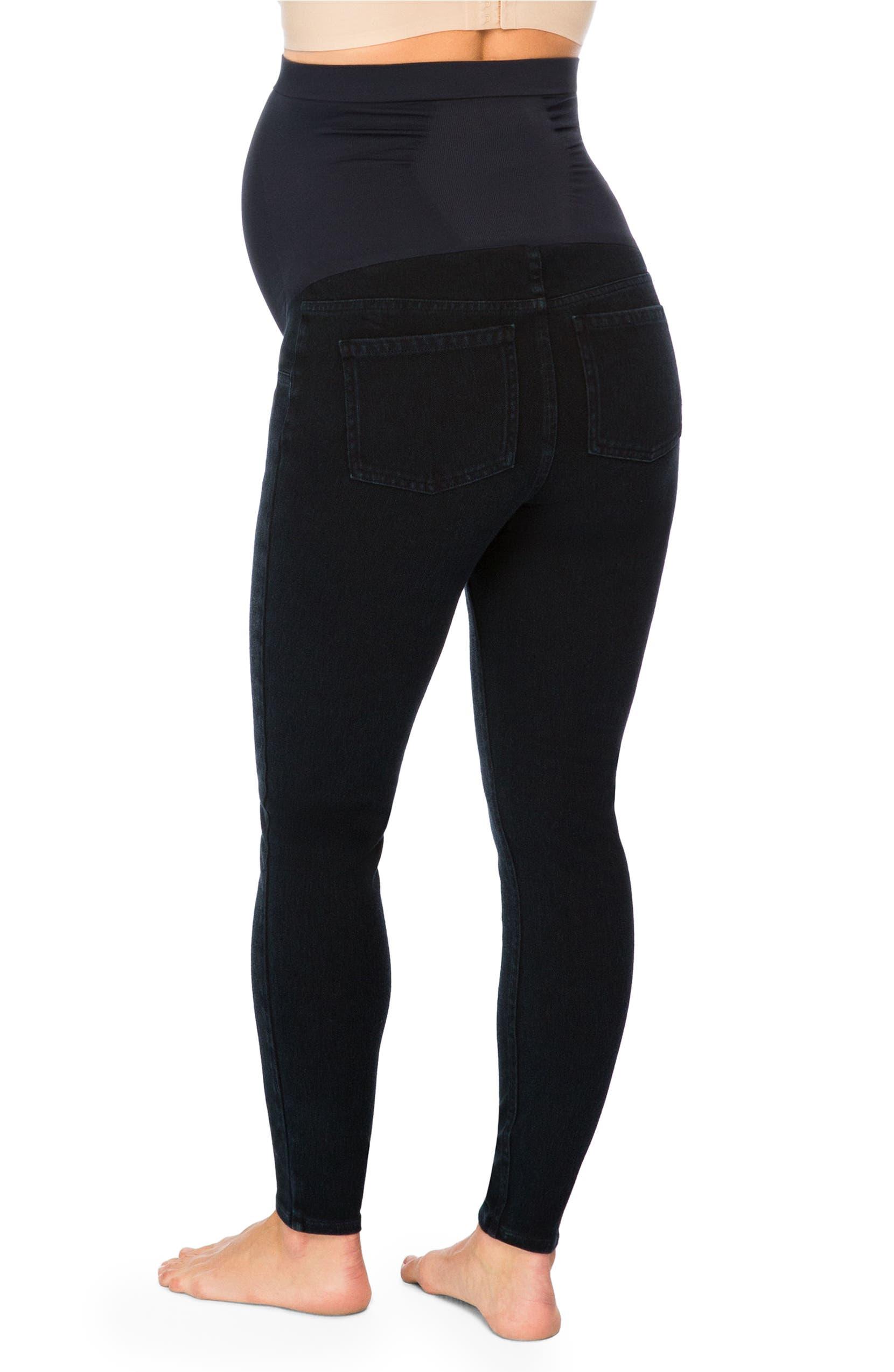 9a84e0c4e2262 SPANX® Mama Ankle Jean-ish® Seamless Maternity Leggings | Nordstrom
