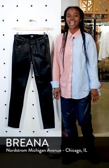 Transcend - Verdugo Coated Skinny Jeans, sales video thumbnail
