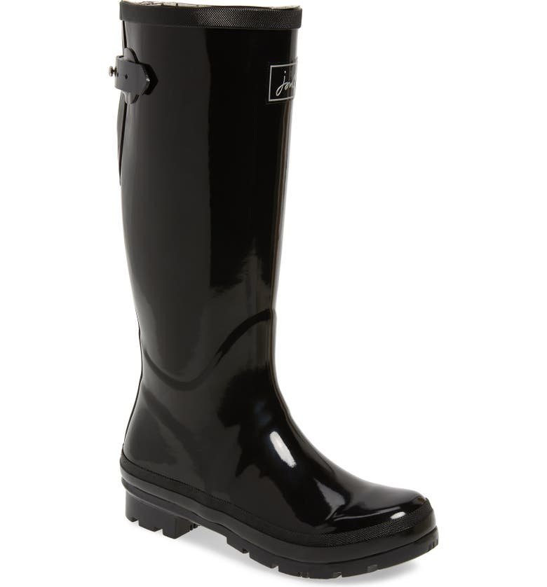 JOULES Tall Welly Waterproof Rain Boot, Main, color, 003