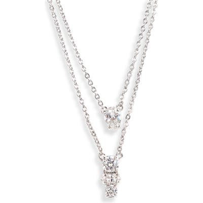Nordstrom Layered Cubic Zirconia Necklace (Nordstrom Exclusive)