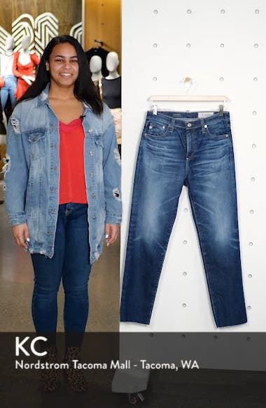 The Isabelle  Ankle Straight Leg Jeans, sales video thumbnail