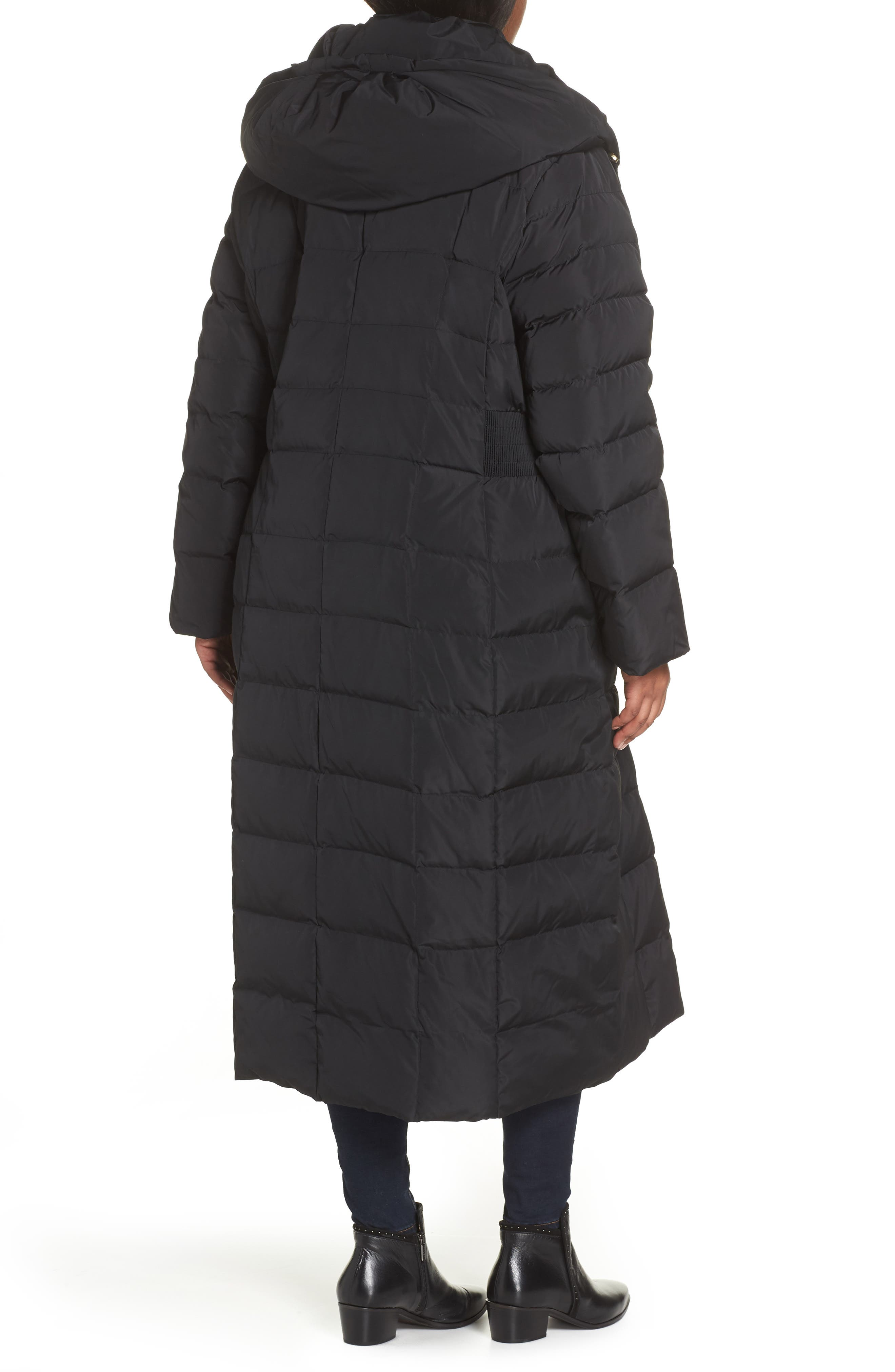 ,                             Quilted Coat with Inner Bib,                             Alternate thumbnail 2, color,                             001