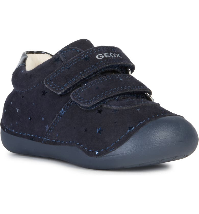 GEOX Tutim Metallic Sneaker, Main, color, DARK NAVY