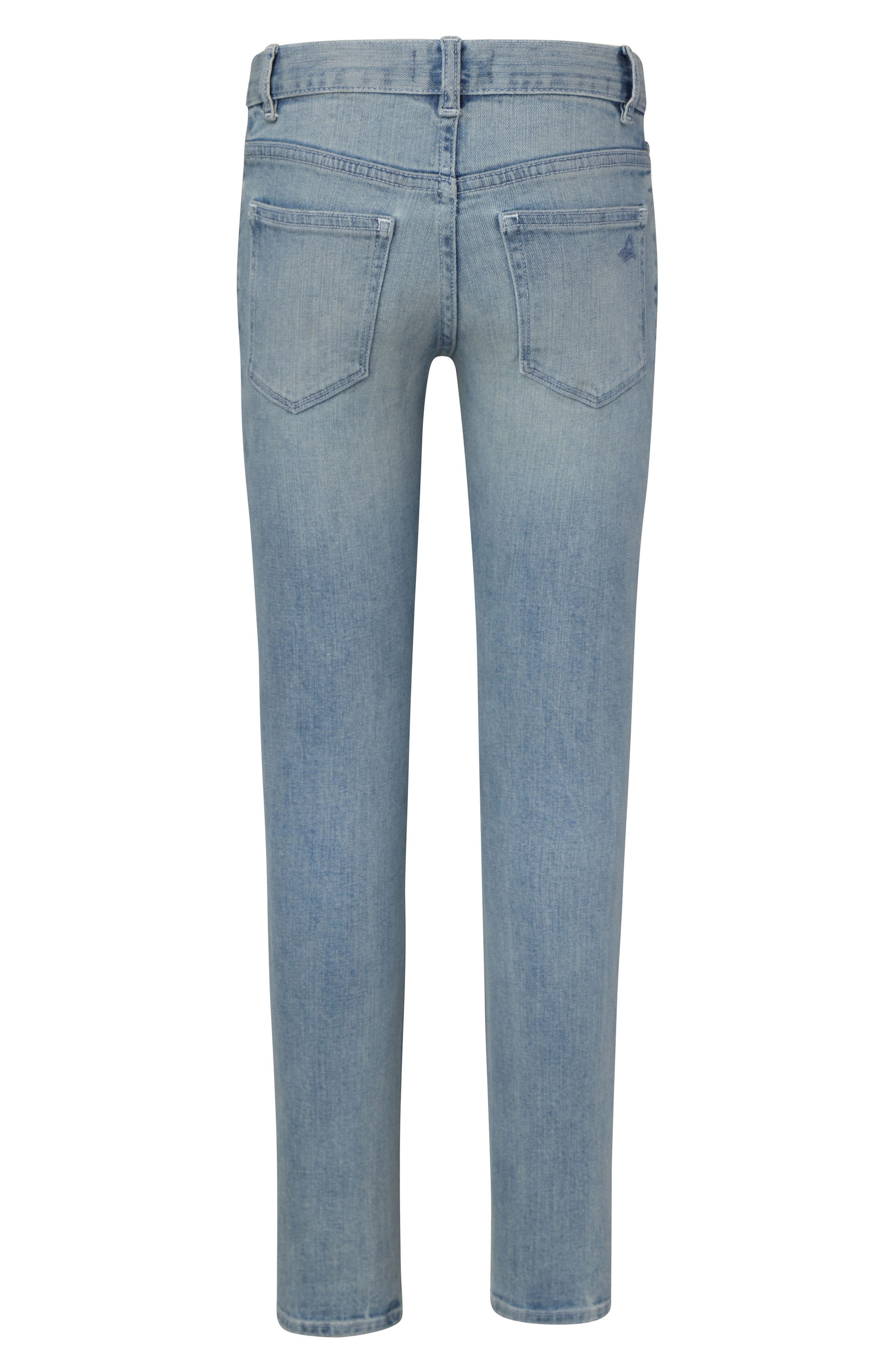 ,                             Distressed Stretch Skinny Jeans,                             Alternate thumbnail 2, color,                             WHIRLWIND