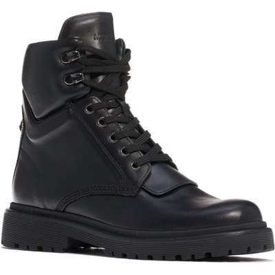 Moncler Patty Combat Boot, Black