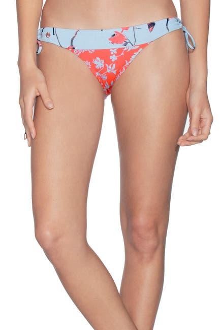 Image of Maaji Loop Glimmer Mixed Print Bikini Bottoms