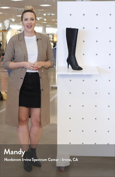 Marcy Genuine Calf Hair Knee High Boot, sales video thumbnail