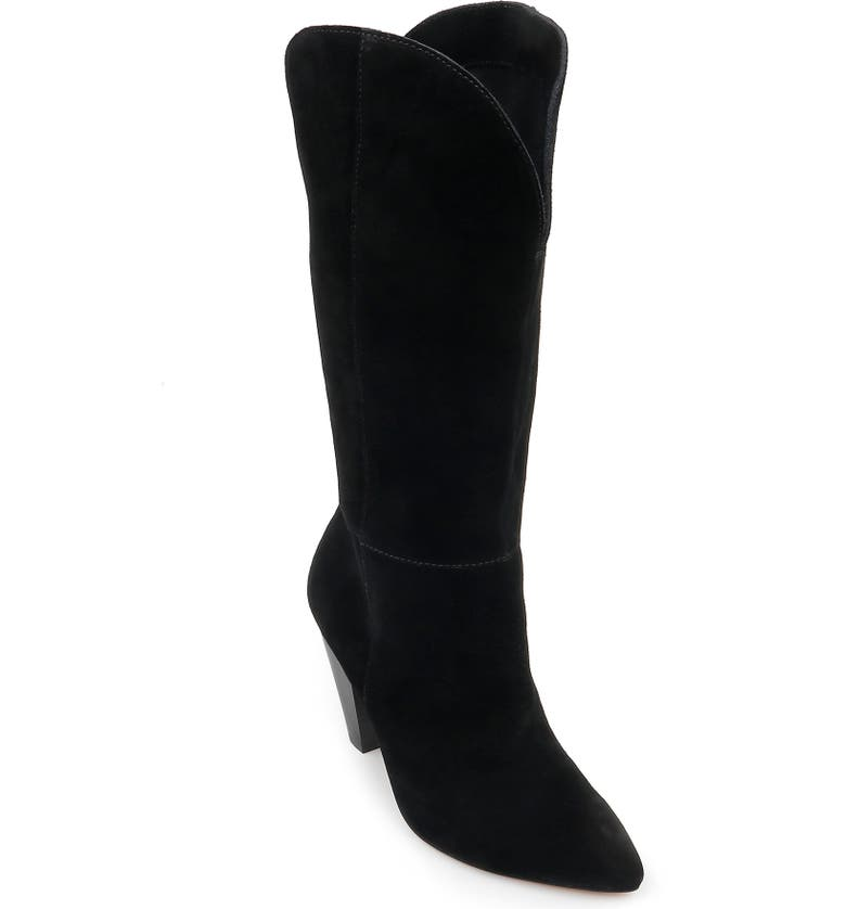 SPLENDID Palmer Tall Boot, Main, color, BLACK LEATHER