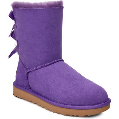UGG Bailey Bow Ii Genuine Shearling Boot, Purple