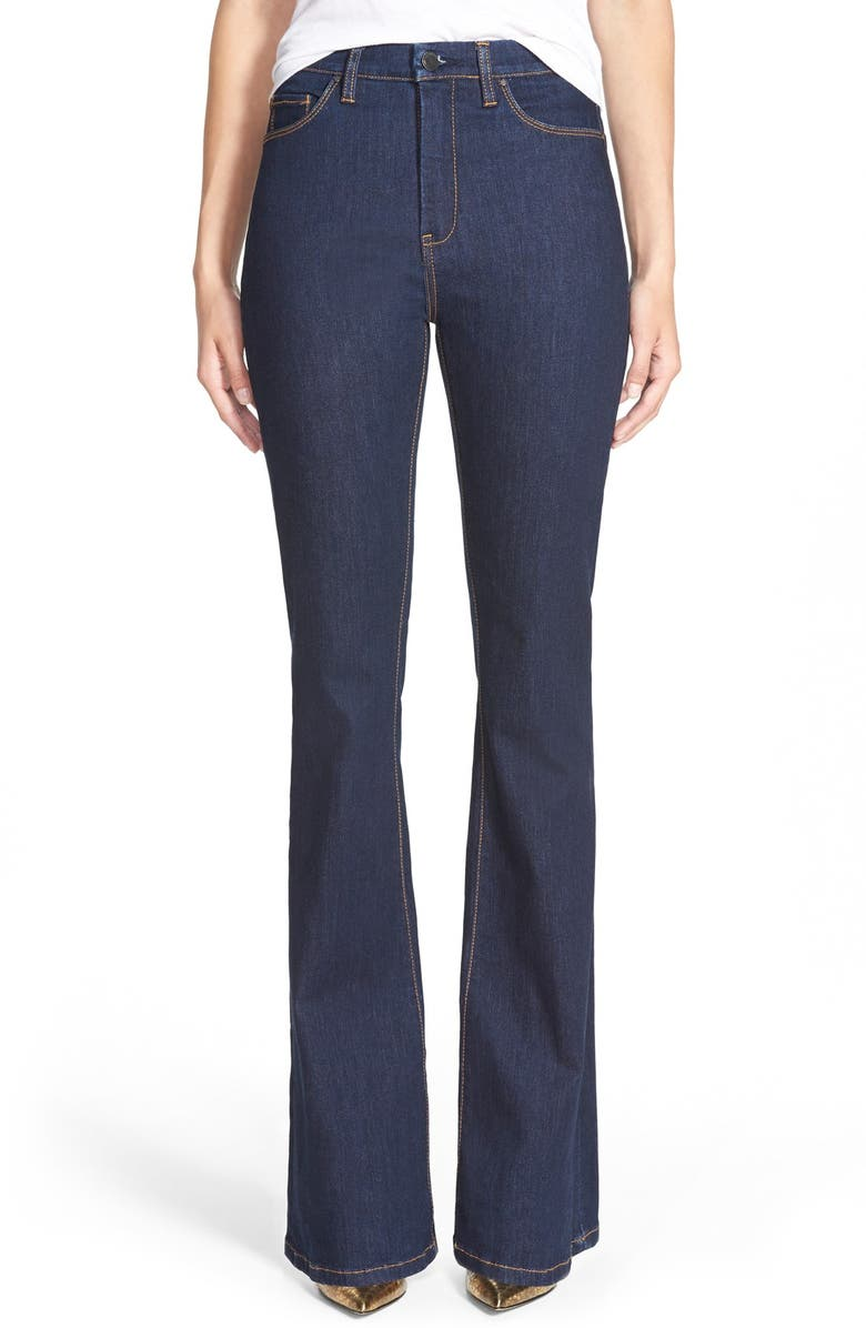 BLANKNYC 'Lies and Alibis' Flare Jeans, Main, color, 400