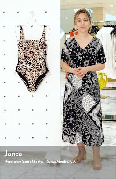 Leopard One-Piece Swimsuit, sales video thumbnail