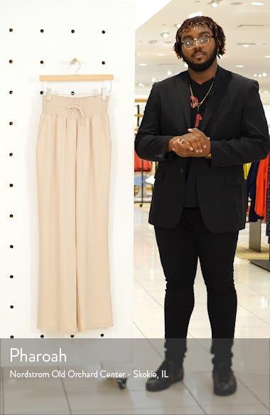 Jenner Smock Waist Drawstring Pants, sales video thumbnail