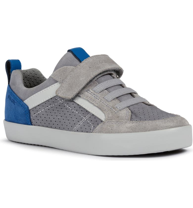 GEOX Kilwi 43 Sneaker, Main, color, GREY/ ROYAL