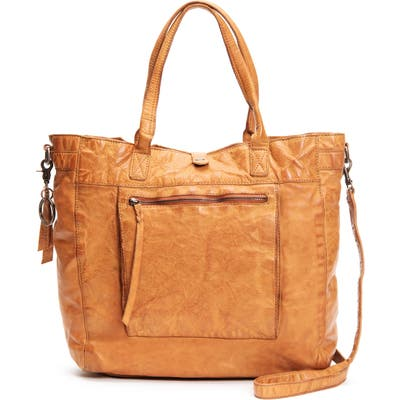 Frye And Co Rubie Leather Tote - Orange