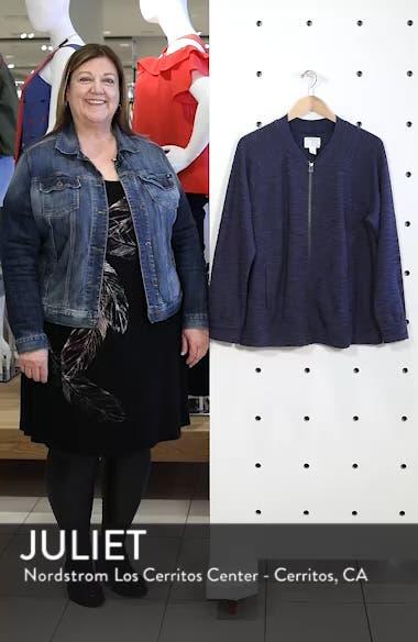 Knit Bomber Jacket, sales video thumbnail