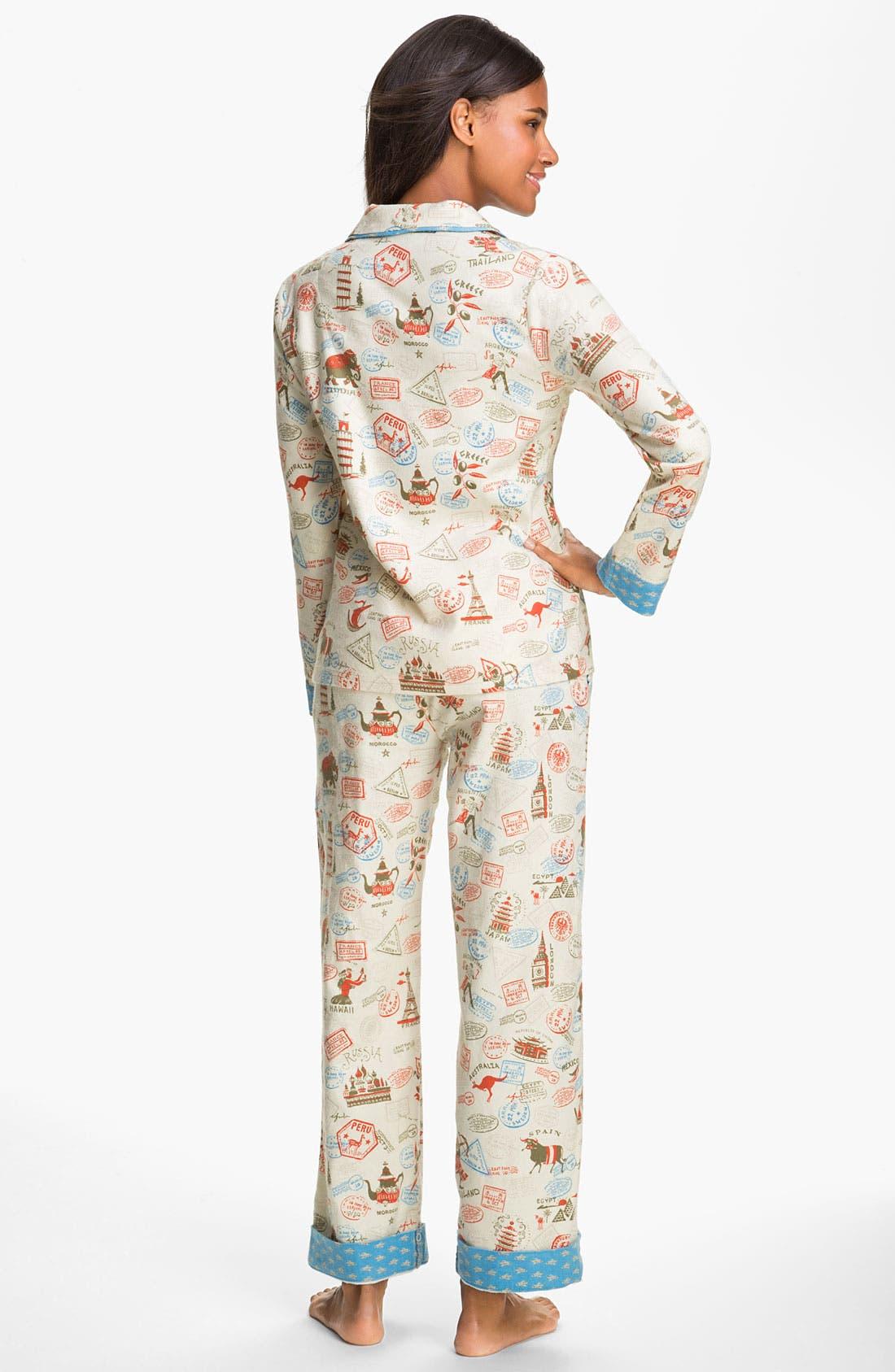 ,                             Flannel Pajamas,                             Alternate thumbnail 15, color,                             102